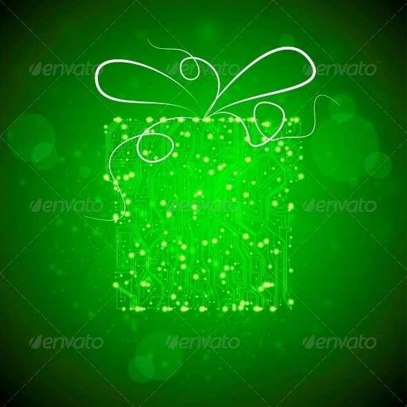 GraphicRiver Circuit Board Vector Background 4023790