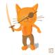 Cat-paint