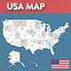 USA Retina Vector Map - GraphicRiver Item for Sale