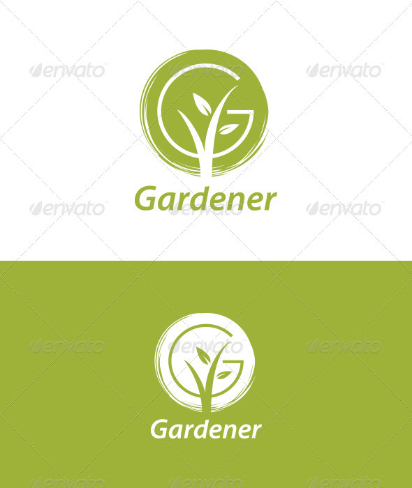 Gardener - Nature Logo Templates