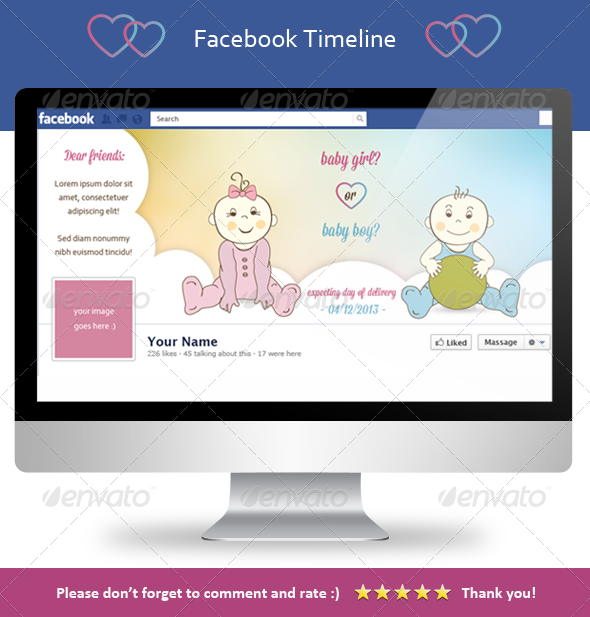 GraphicRiver Girl or Boy Fb Cover 3853545