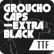 GrouchoCaps - Extra Black - GraphicRiver Item for Sale