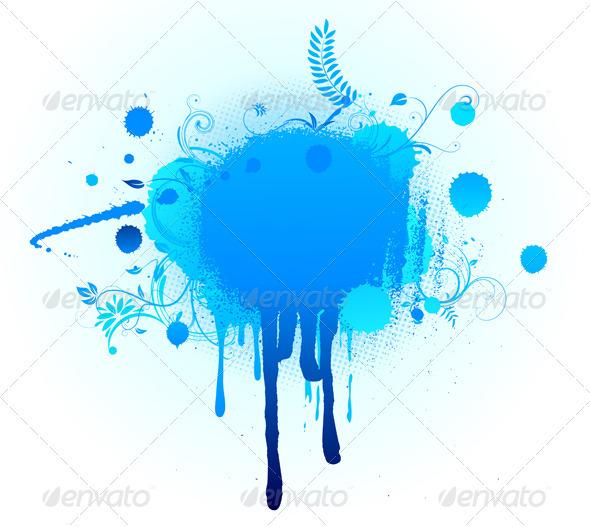 GraphicRiver big blue blot 4024752