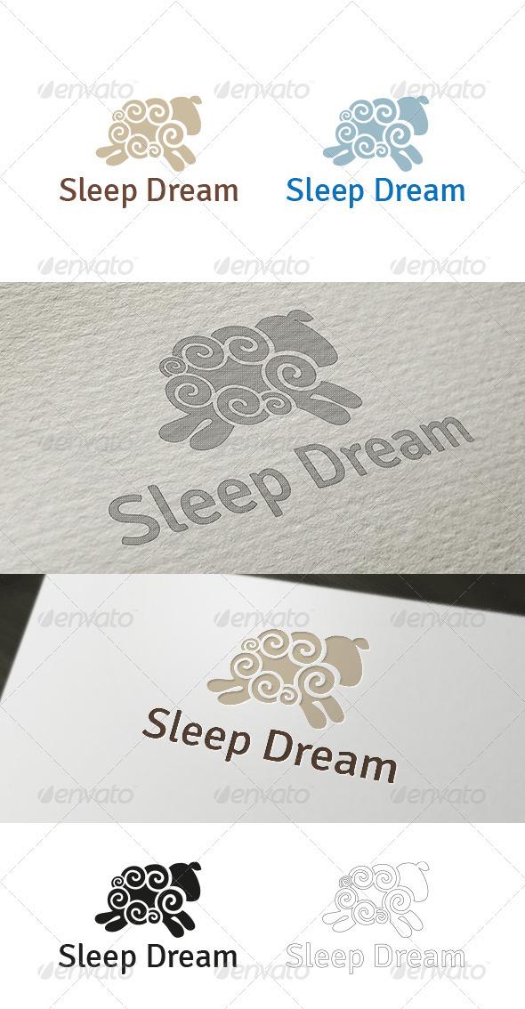 GraphicRiver Sleep Dream Logo Template 3770219