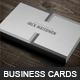 Universal Business Card - GraphicRiver Item for Sale
