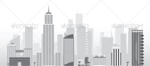 GraphicRiver Vector City 4025285