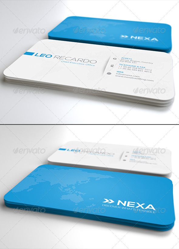 GraphicRiver Global Business Card Ver 2.0 4025495