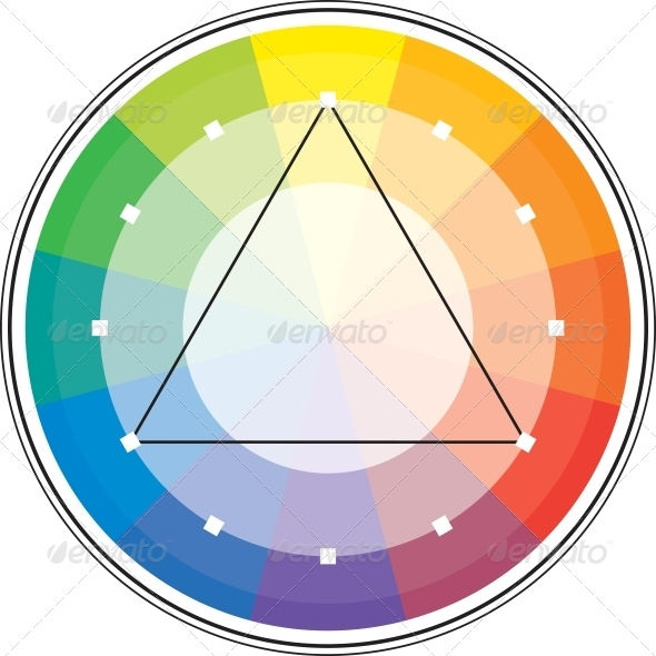 GraphicRiver Color Triangle 4025781