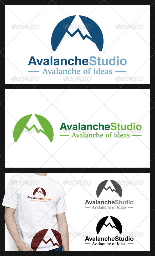 GraphicRiver Avalanche Studio Logo Template 3738737