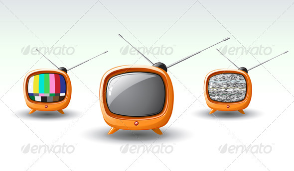 GraphicRiver retro tv 4026515