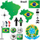 Brazil Map - GraphicRiver Item for Sale