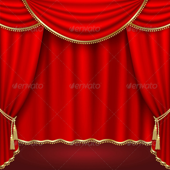 GraphicRiver Theater Stage 4026793