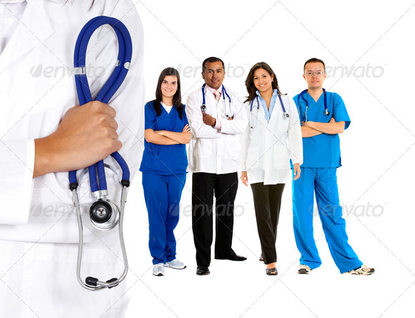 Stock Photo - PhotoDune Doctors team 435536