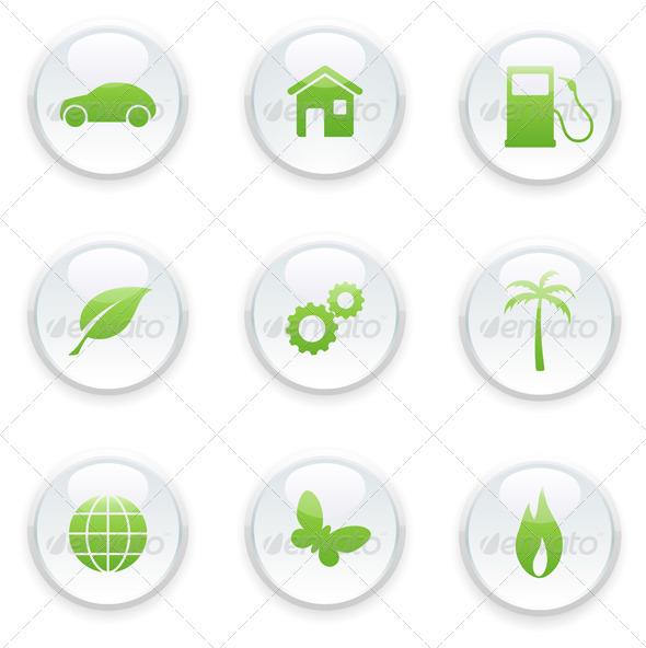 GraphicRiver Eco concept 4027412