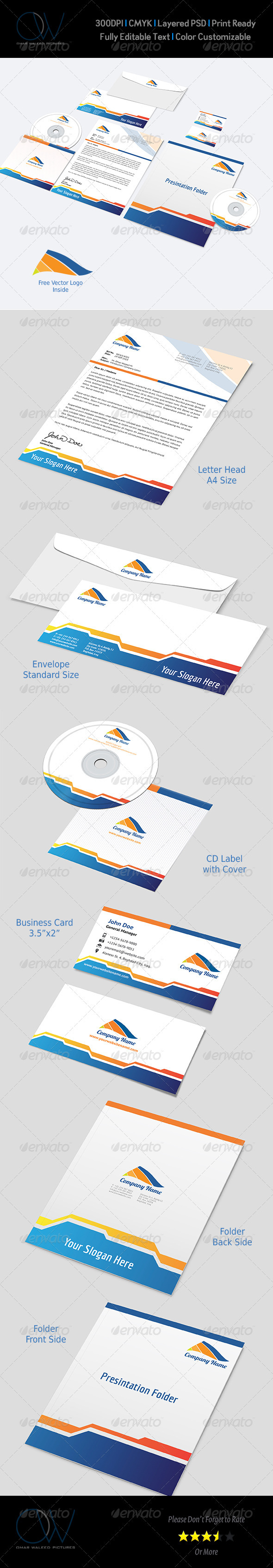 GraphicRiver Corporate Stationery Pack Vol.4 3559029