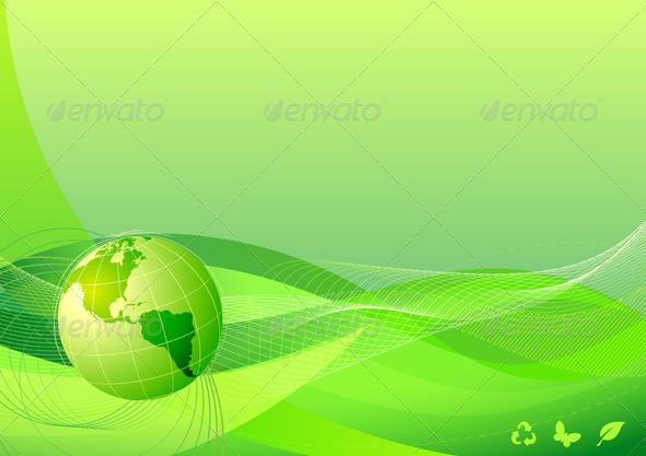 GraphicRiver Eco Concept 4027624