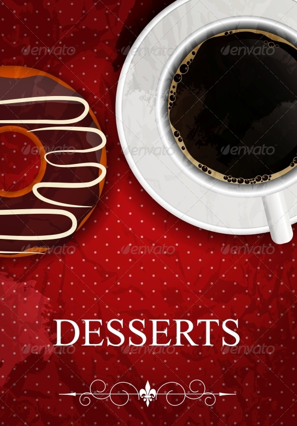 GraphicRiver Vector dessert menu 4027662