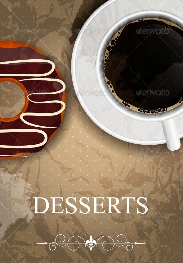 GraphicRiver Vector Dessert Menu 4027667