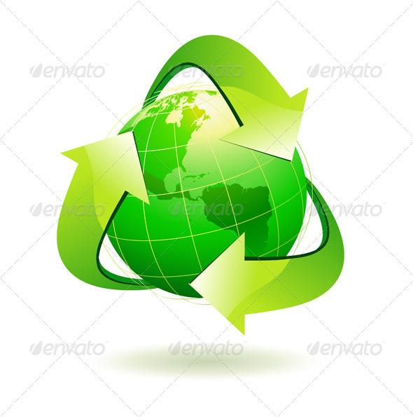 GraphicRiver Eco concept 4027679