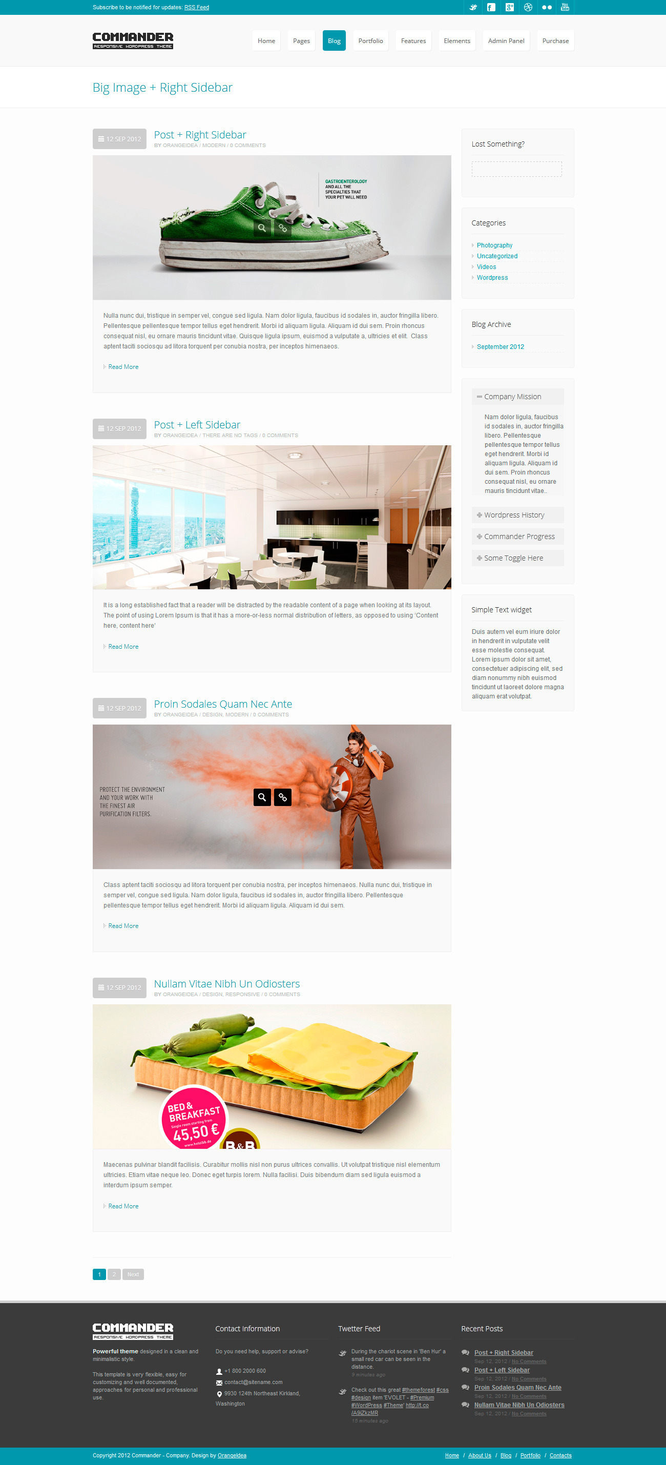 COMMANDER -  Responsive Multi-Purpose Theme