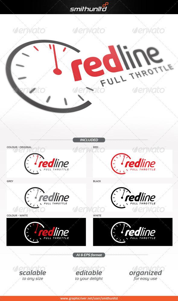 GraphicRiver Redline Full throttle Logo template 3882933