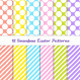 Easter Jumbo Polka Dot and Stripes Patterns - GraphicRiver Item for Sale