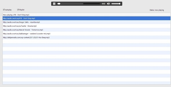 CodeCanyon SWORT WebAudio Real Studio Web Plugin V1.1 4021222