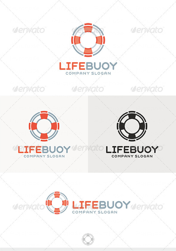 GraphicRiver Lifebuoy Logo 4028807