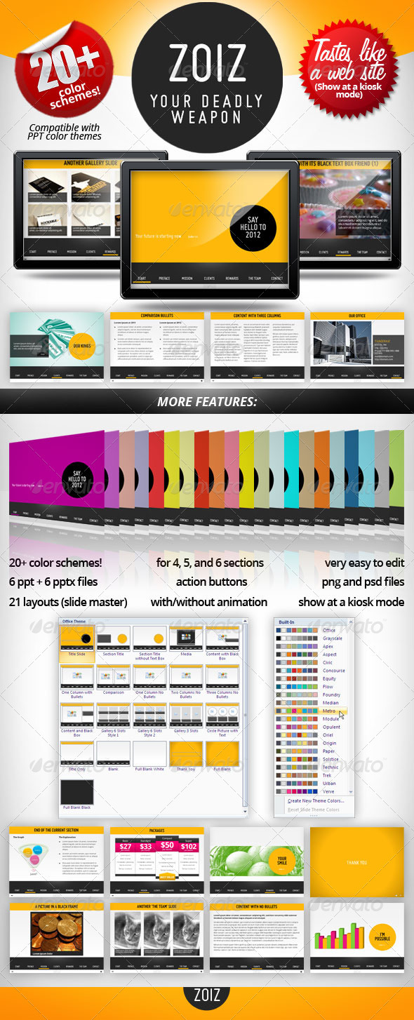 Best animated powerpoint templates on graphicriver you can edit the content easily just choose one of the layout master slide for your slide and then type your content insert your picture clip art toneelgroepblik Choice Image