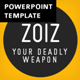 ZOIZ Animated PowerPoint Template - GraphicRiver Item for Sale