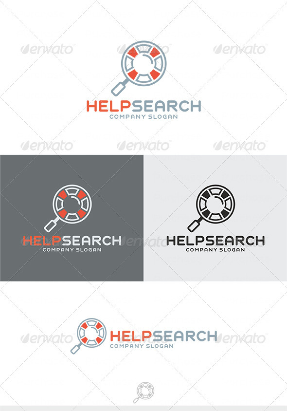 Help Search Logo - Symbols Logo Templates