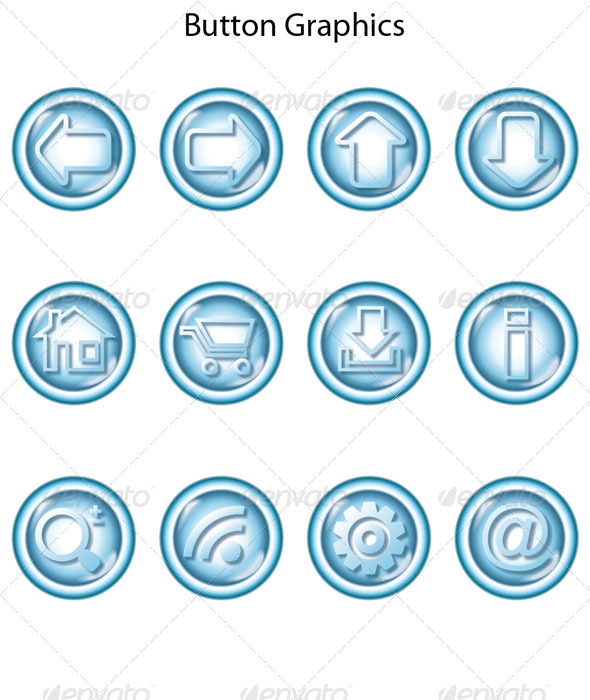 GraphicRiver Button Graphics 4029077