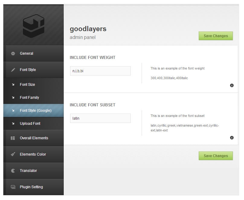 Rocket Board - Metro Wordpress Theme - adminpanel