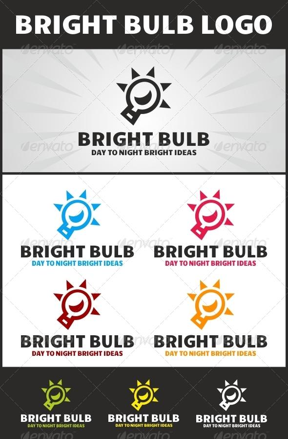 GraphicRiver Bright Bulb Logo 4029462