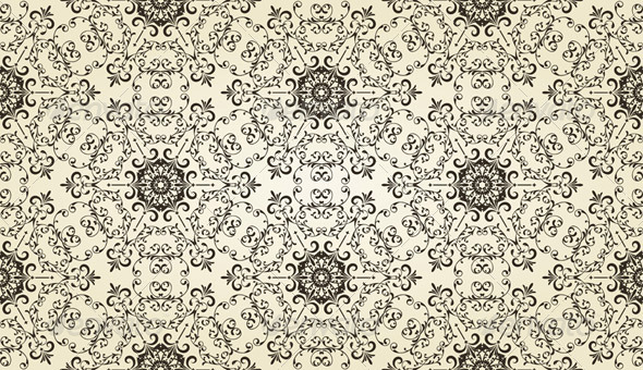 GraphicRiver Vector Vintage Seamless Pattern 4029531