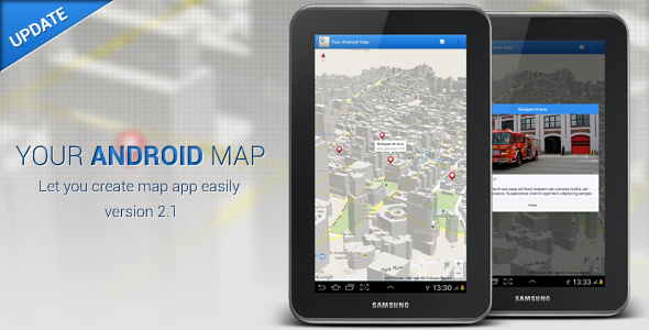 Your Android Map - CodeCanyon Item for Sale