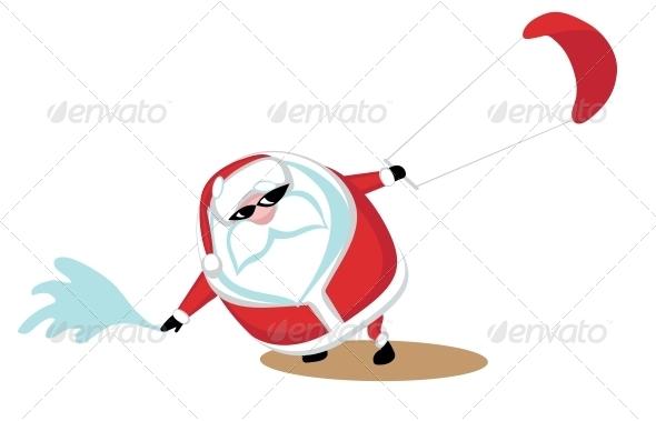 GraphicRiver Extreme Santa 4029604