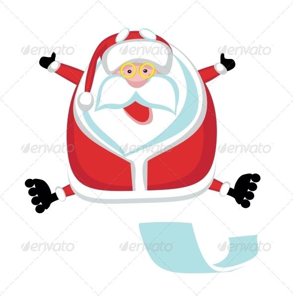 GraphicRiver Extreme Santa 4029606