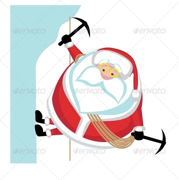 GraphicRiver Extreme Santa 4029607