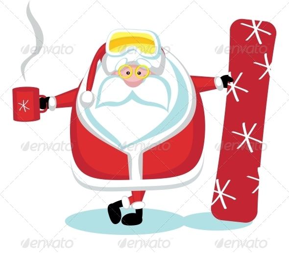 GraphicRiver Extreme Santa 4029609