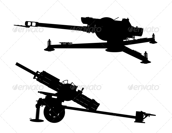 Artillery - Man-made Objects Objects