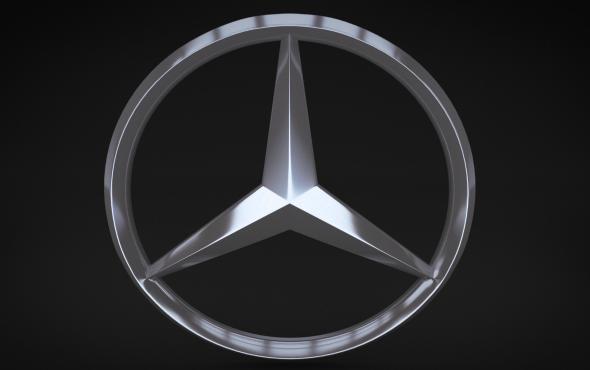 Mercedes logo 3d models 3docean for Mercedes benz logo for sale