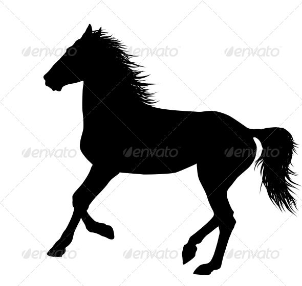 GraphicRiver Vector Horse 4029661