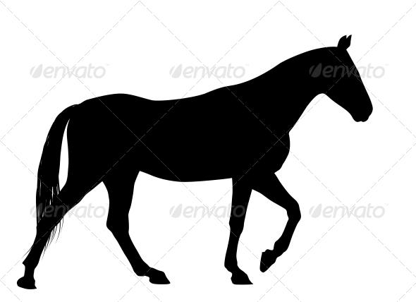 GraphicRiver Vector Horse 4029664