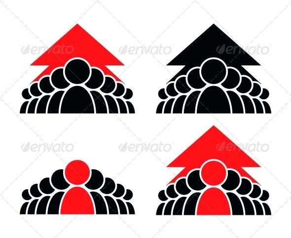 GraphicRiver Teamwork Icon 4029751