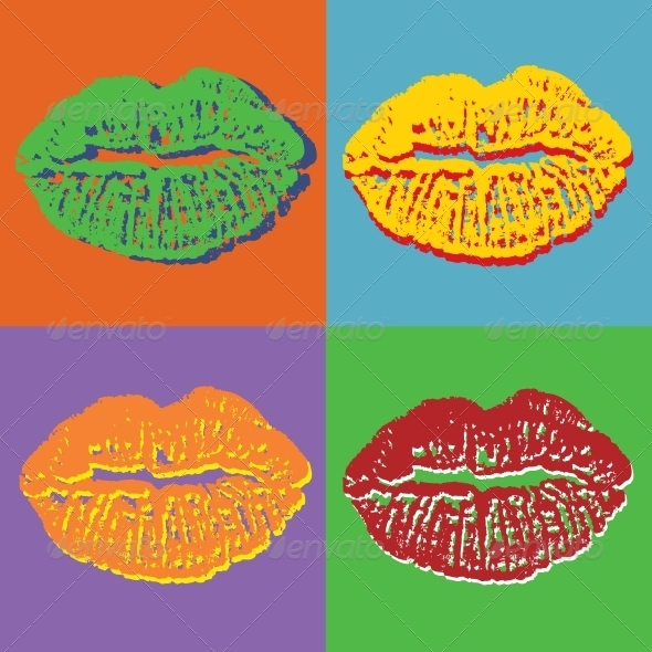 GraphicRiver Lips Set 4029944