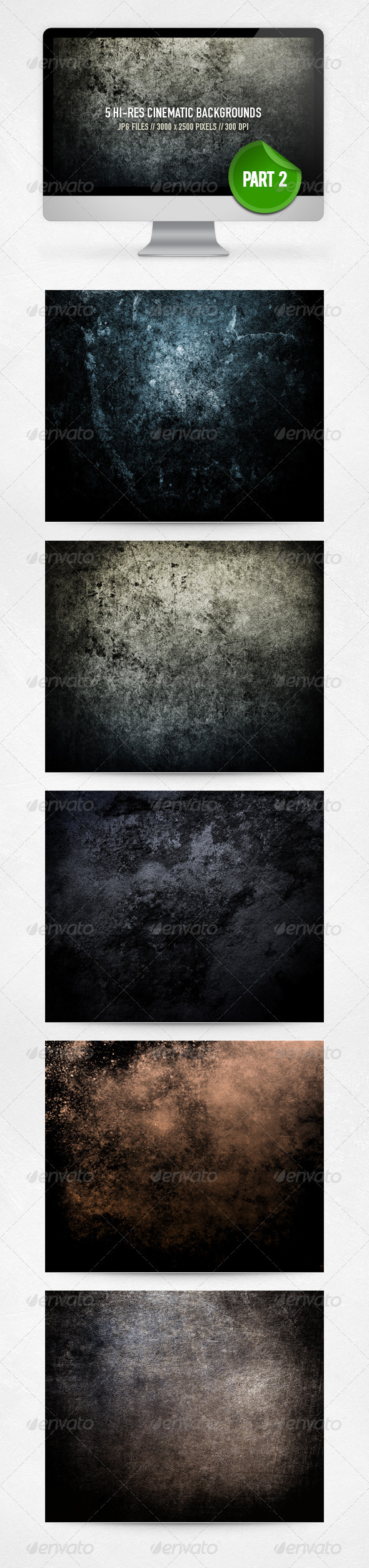 GraphicRiver Cinematic Backgrounds Part 2 4030570