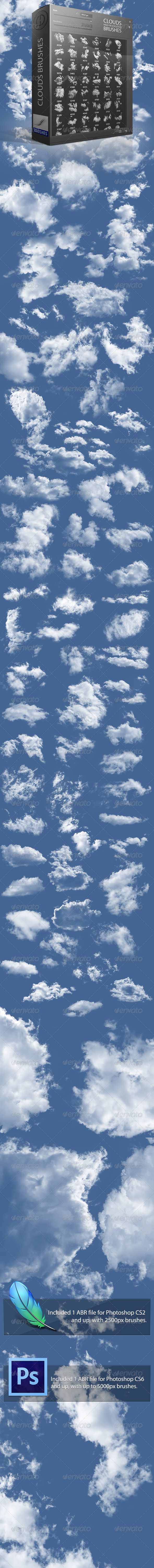 GraphicRiver Clouds Brushes 2 0 4032042