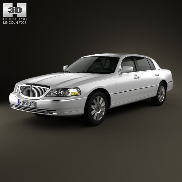 Lincoln Town Car L 2011 - 3DOcean Item for Sale