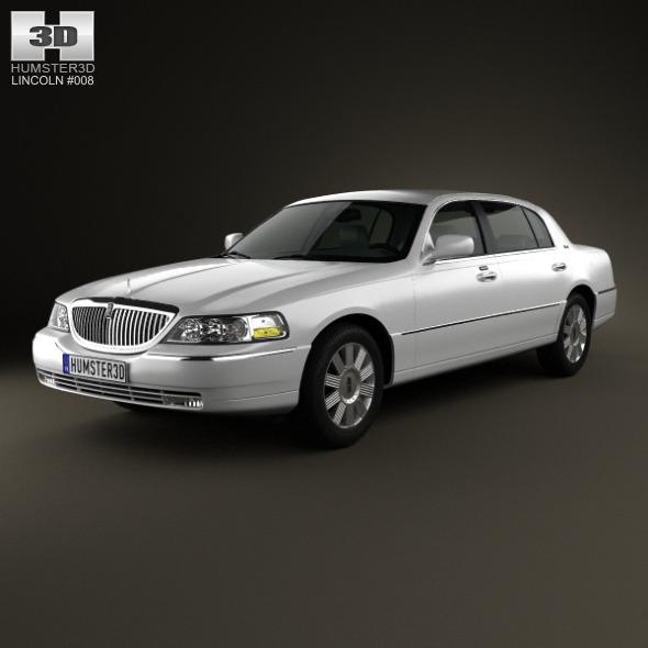 3DOcean Lincoln Town Car L 2011 4032043